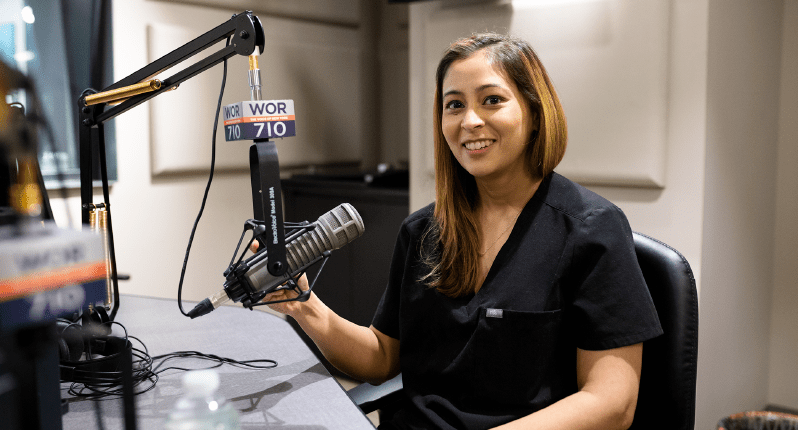 Dr. Khimani ON 710 WOR The Voice of New York