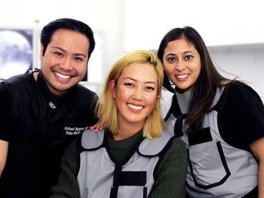 Namrata Khimani, Dr. Nguyen and Michelle Wie - Pain Treatment Specialists