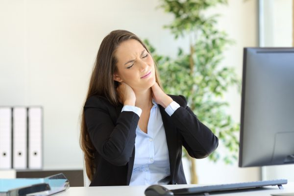 Pain in the Neck? | Find out about symptoms, causes, and neck strain treatment.
