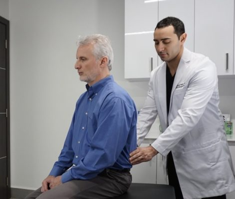 How can I locate a back pain doctor near me? Patients searching for back pain relief due to chronic back pain know that finding a back pain doctor is the first step to get relief from lower back pain.